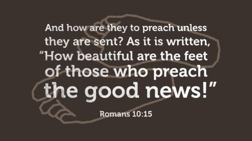 Romans 10:15 verse of the day image