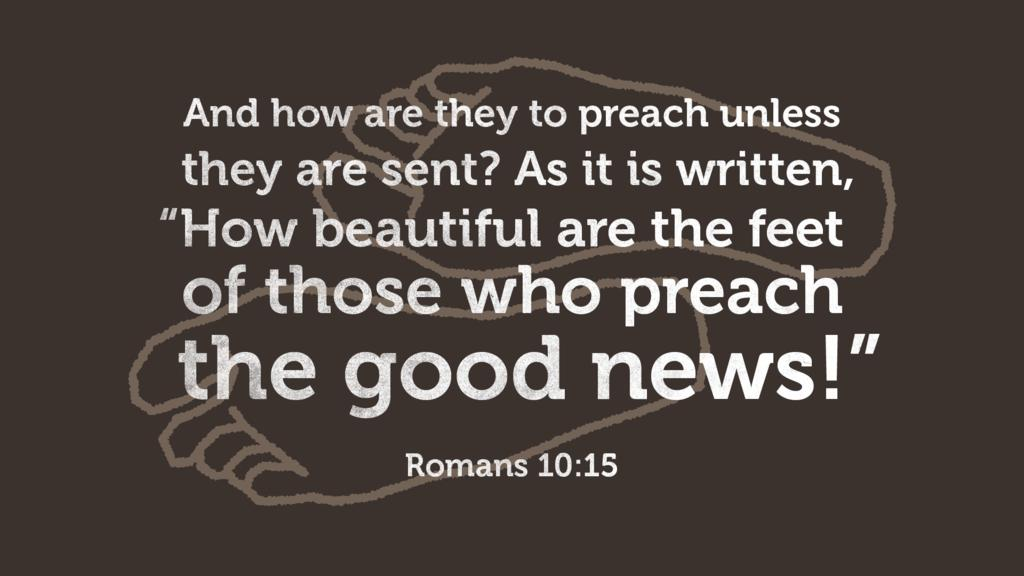 Romans 10:15 large preview