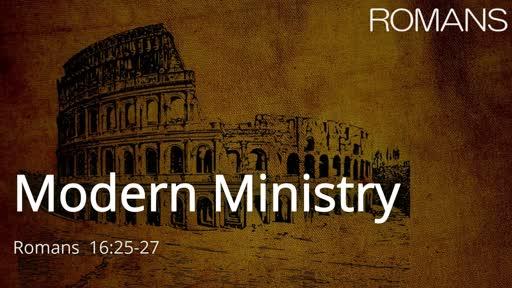 Modern Ministry