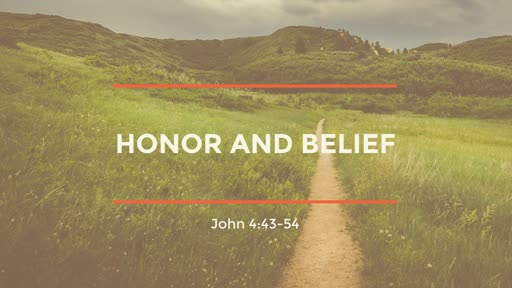 Honor and Belief