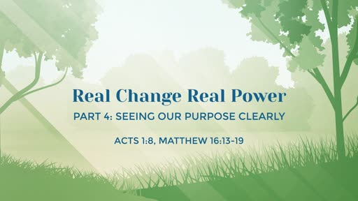 Real Change and Holiness