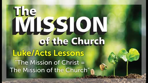 9/8/2019 The Mission of Christ