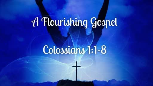 A Flourishing Gospel | Colossians 1:1-8 | Luke Rosenberger