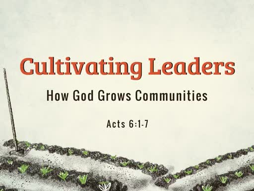 Cultivating  Leaders