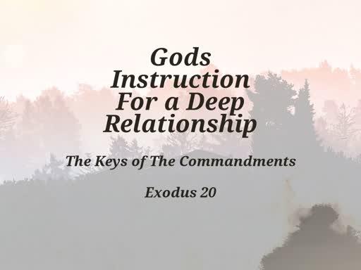 Keys of the commandments