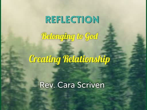 Belonging to God - Creating Relationship