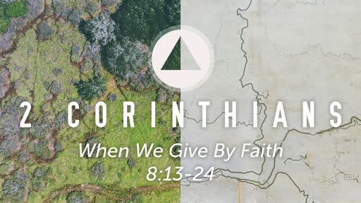 Sunday, September 8- PM - When We Give By Faith