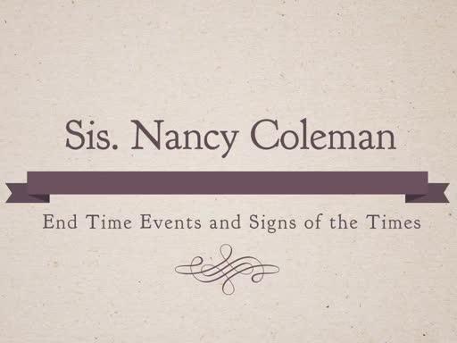 Sis Nancy Coleman