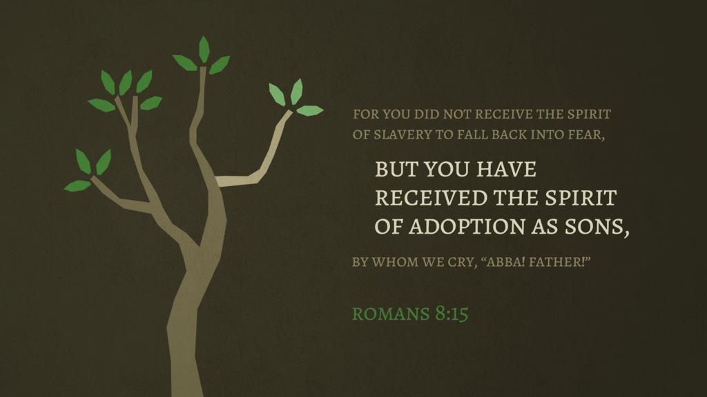 Romans 8:15 large preview