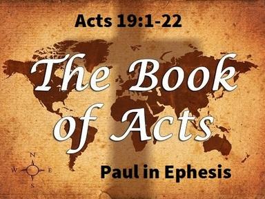 9/1/2019 Paul in Ephesus