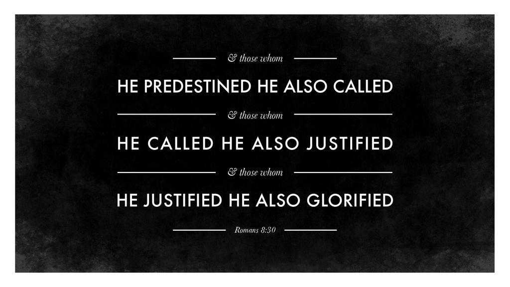 Romans 8:30 large preview