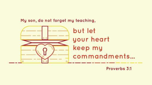 Proverbs 3:1