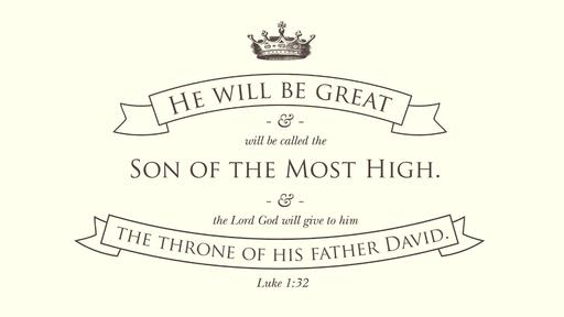 Luke 1:32