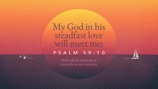 Psalm 59:10