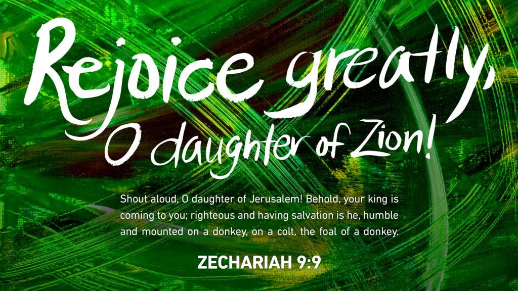 Zechariah 9:9 large preview