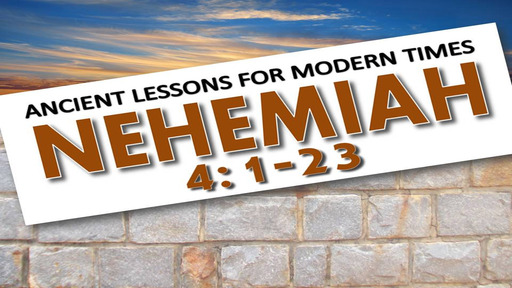 A Lesson of Endurance From Nehemiah