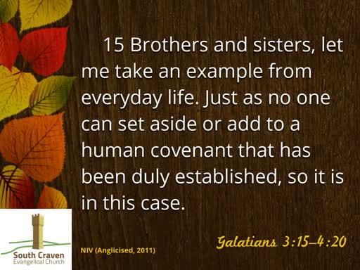 Galatians 3:23-4:7