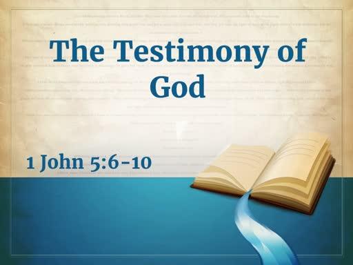 Testimony of God