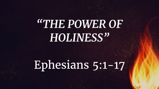 September 15 - The Power of Holiness