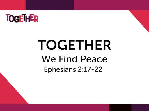 Together We Find Peace
