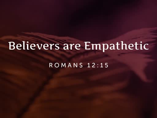 Believers are Empathetic