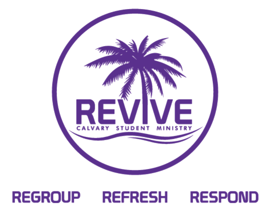 Revive Logo With Buzz Words Purple Transp