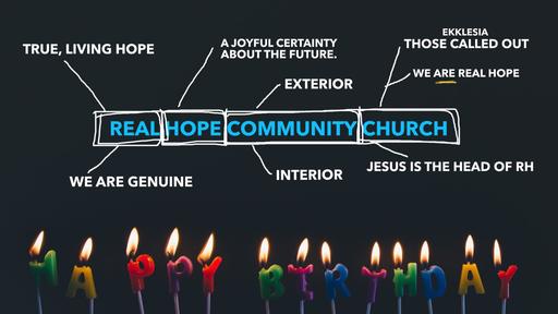 Real Hope Third Birthday