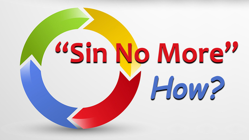 Sin No More - But How?