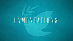 Lamentations  PowerPoint image 1
