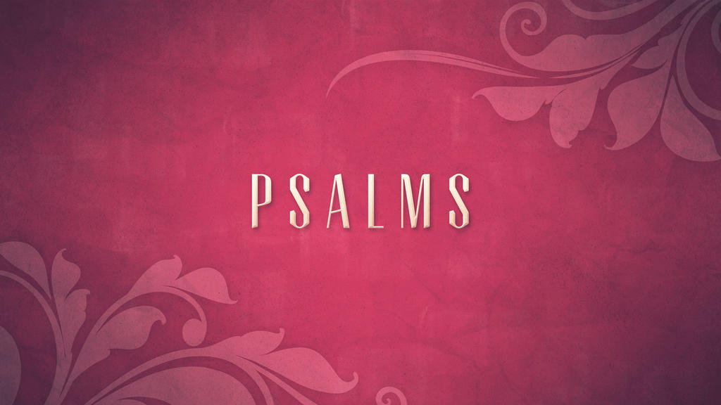 Psalms large preview