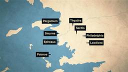 1 John map 16x9 PowerPoint image