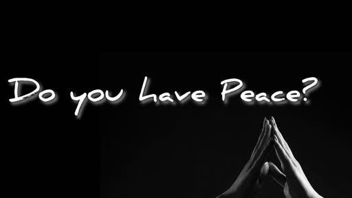 Peace Sunday