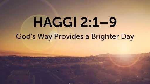 Haggi 2:1–9