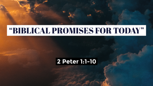 Biblical Promises for Today
