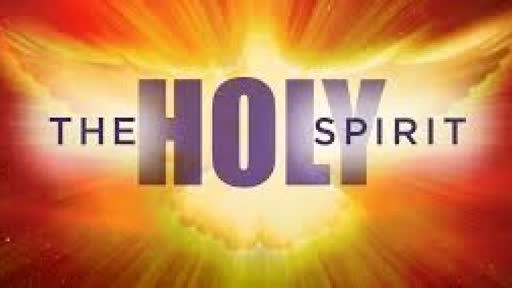 Holy Spirit -As they were praying