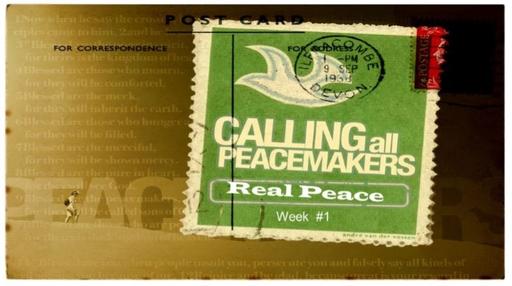Peacemaking Week 1