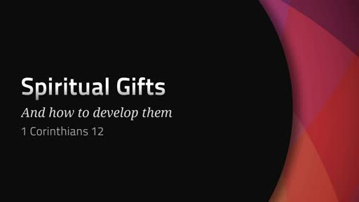 Spiritual Gifts III- Pastor Georgia Harris