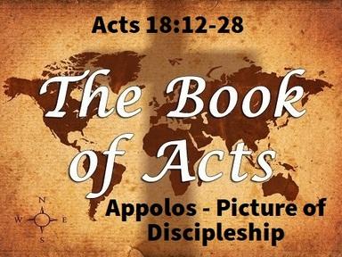 9/22/2019 - Apollos: Picture of Discipleship