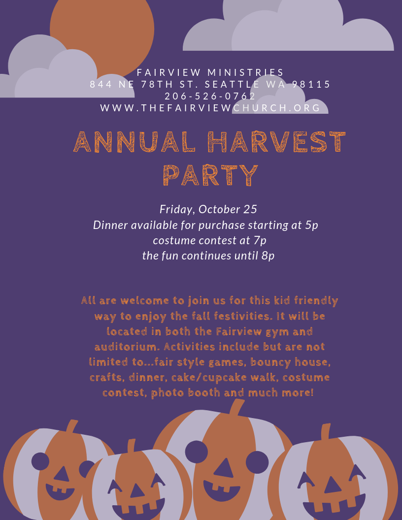 Harvest Party Png File
