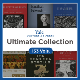 Yale University Press Ultimate Collection (153 vols.)