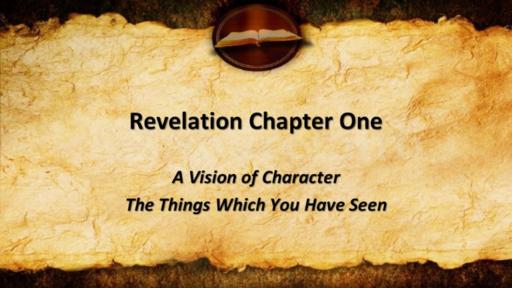 Revelstion Chapter 1