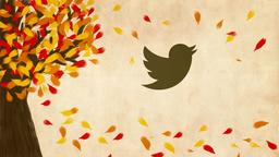 Fall Leaves twitter 16x9 PowerPoint Photoshop image