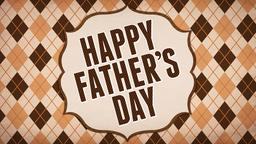 Father's Day: Argyle  PowerPoint image 1