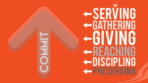 """Commit: """"The High Commitment of Reaching and Discipling"""""""