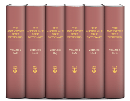 Anchor Yale Bible Dictionary (AYBD) (6 vols.)