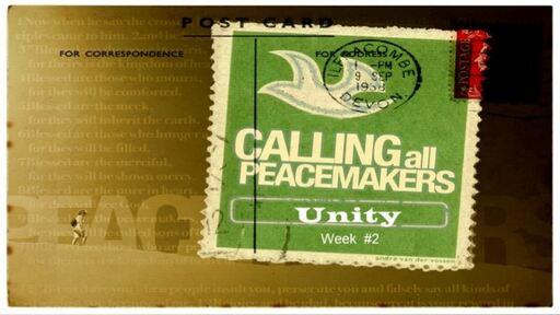 Peacemaking Week 2