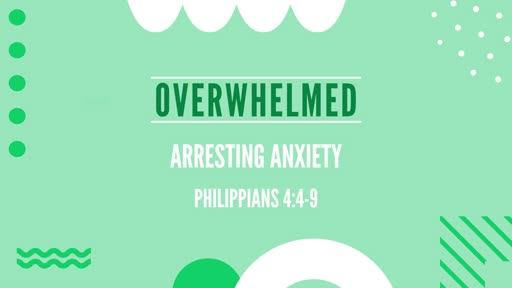 Arresting Anxiety