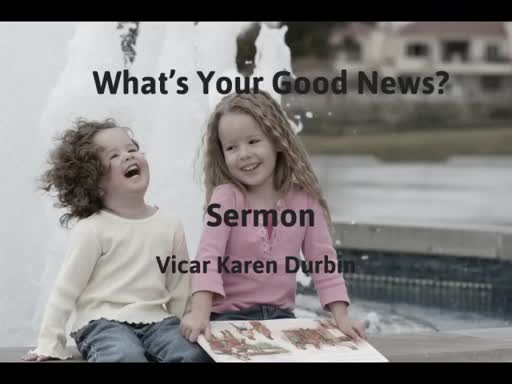 What's Your Good News?