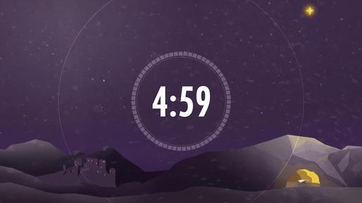 Christmas: Bethlehem - Christmas Countdown 5 minute
