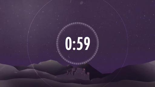 Christmas: Bethlehem - Christmas Countdown 1 minute